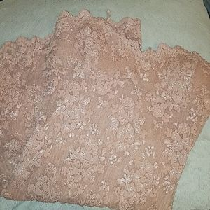 FP Lace strapless dress5